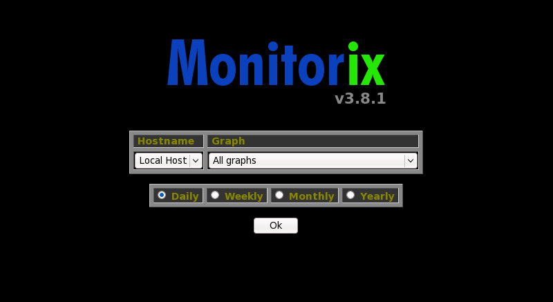 Установка Monitorix в Ubuntu